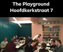 THE PLAYGROUND HOOFDKERK